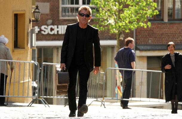 Peter Maffay (auf dem Weg zur Karlspreisverleihung) - Aachen 2015