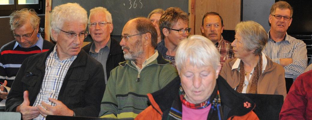 Hinten rechts: EVP-Copräsident Hugo Bosshard als Gast