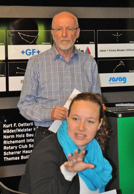 Seraina Fürer (Juso) vertritt die Stipendieninitiative