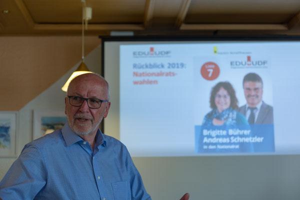 Jahresbericht des Präsidenten Erwin Sutter