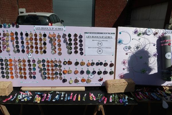 Des bijoux faits avec des objets que l'on aurait jetés !