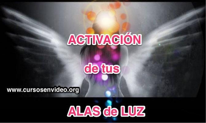 Activación de tu Alas de Luz. Encuentro con el Arcángel Metatrón