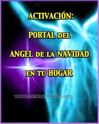ACTIVACIÓN del PORTAL de la NAVIDAD en tu HOGAR con el Ángel de la Navidad.