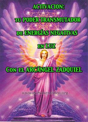 Aprende a TRANSMUTAR las ENERGÍAS NEGATIVAS con el Arcángel ZADQUIEL.