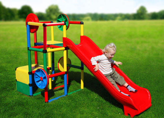 QUADRO Basic Junglegym Integrated Slide