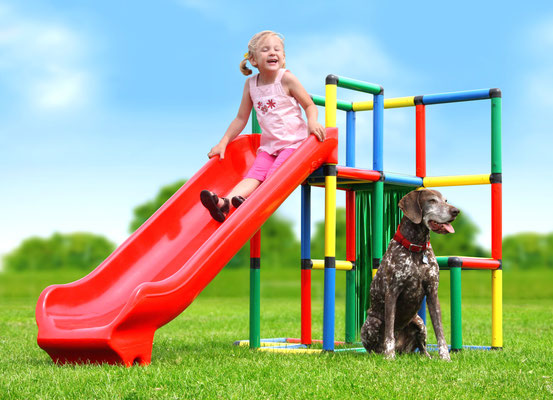 QUADRO STARTER Junglegym Integrated Slide