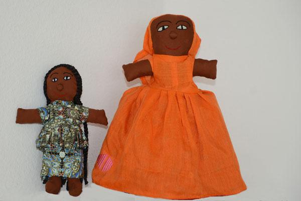 Handgemachte Puppen