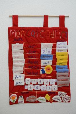 Handgemachter Kalender