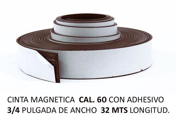 CINTA MAGNETICA CAL 60 GRANDE