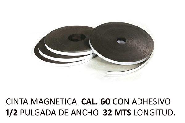 CINTA MAGNETICA CAL 60 CHICA