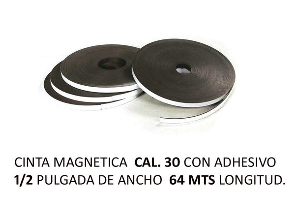 CINTA MAGNETICA CAL 30 CHICA
