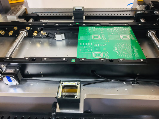 VP2800HP-CL64-RCV conveyor mounting zone