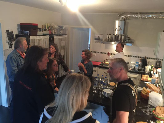 Unser erstes Family Treffen in Bochold bei Marc & Andrea im September 2017
