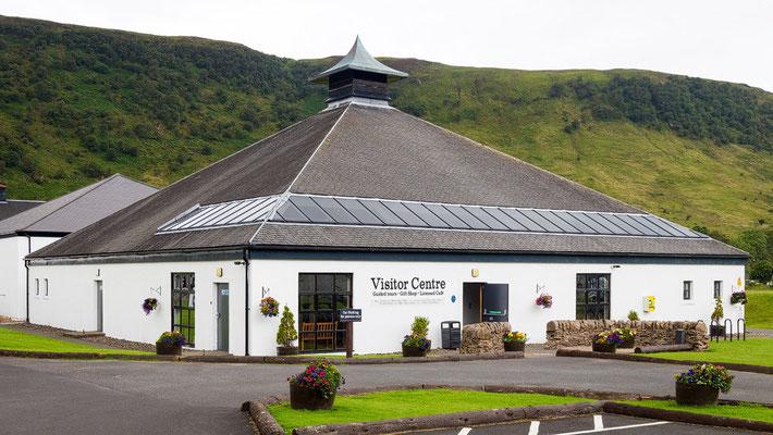 Wunderschön gelegen die Distillery of arran in Lochranza
