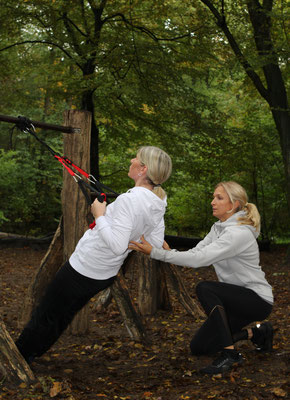 Outdoor Schlingentraining, Personal Training, AW Personal Training, Hamburg