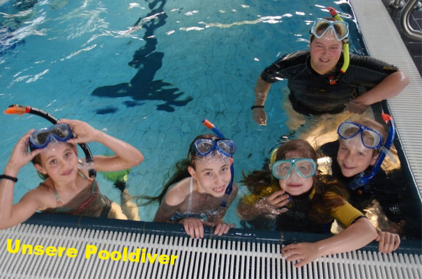 Unsere Pooldiver