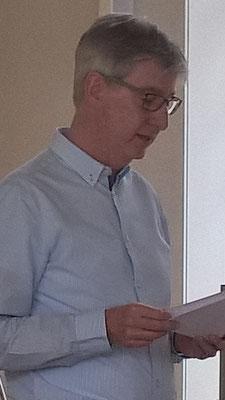 Andreas Klenke bei seinem Bericht