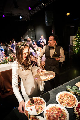 Pizza auf einer Hochzeit?! The HELL YESSSSS!!!!!!