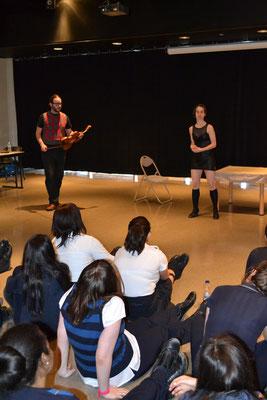 Conférence et démonstration du duo Les bordéliques.