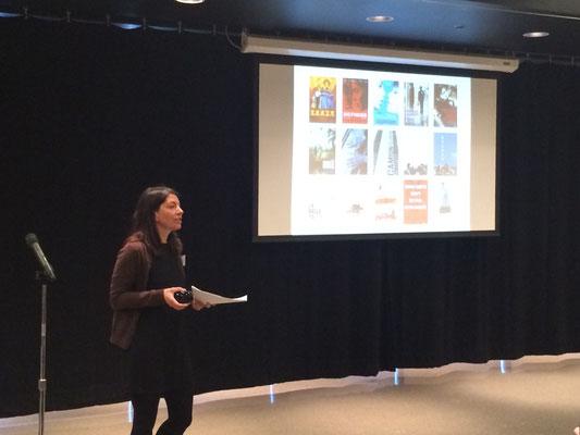 Conférence de Mme Karine Savard, affichiste