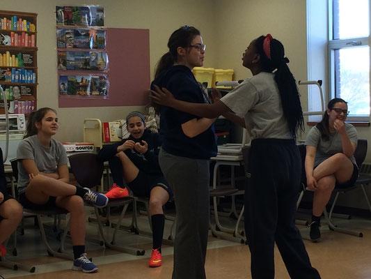 Atelier d'art dramatique avec Mme Resta-Fata