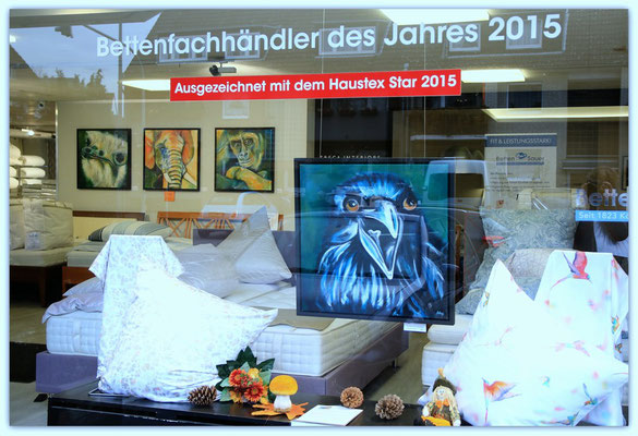 Foto: Udo Funk ++ Ausstellungsort Nr. 29 > Betten Sauer > Anja Hühn