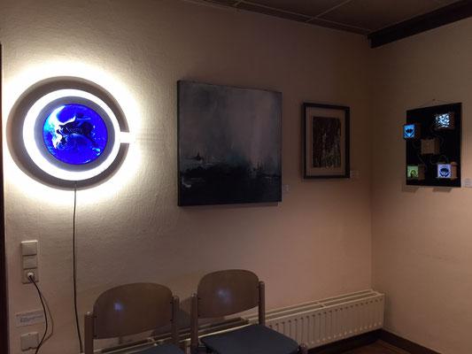 Foto: Seona Sommer ++ Ausstellungsort Nr. 46 > Ev. Johanneskirche > Gemeinschaftsausstellung