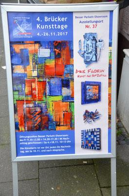 Foto: Martina Veith -- 2. Kunstspaziergang ++ Ausstellungsort Nr. 37 > Besser Parkett > Imke Florin
