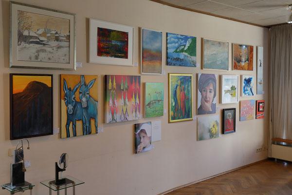 Foto: Andreas Böhling ++ Ausstellungsort Nr. 46 > Ev. Johanneskirche > Gemeinschaftsausstellung