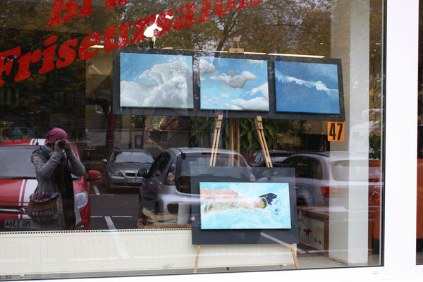 Foto: Seona Sommer ++ Ausstellungsort Nr. 47 > Brücker Friseursalon > Martina Günthner-Lange