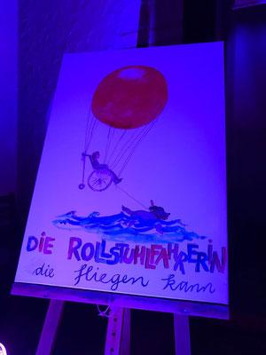 Foto: Hans Diernberger -- Lesung von Nina Hoffmann mit Musik von Fabian Haupt