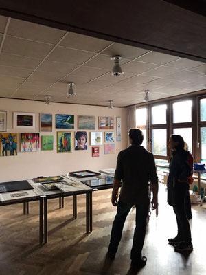 Foto: Martina Veith ++ Ausstellungsort Nr. 46 > Ev. Johanneskirche > Gemeinschaftsausstellung