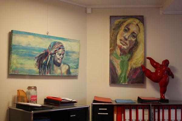 Foto: Seona Sommer ++ Ausstellungsort Nr.  23 > Praxis Dr. Grochla > Margrit Schneider