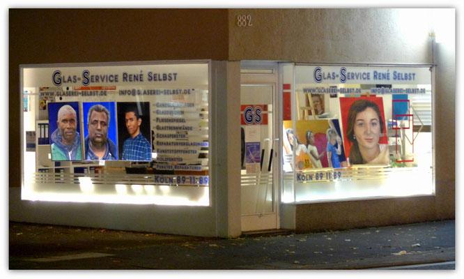 Foto: Udo Funk ++ Ausstellungsort Nr. 41 > Glasservice Selbst > Seona Sommer