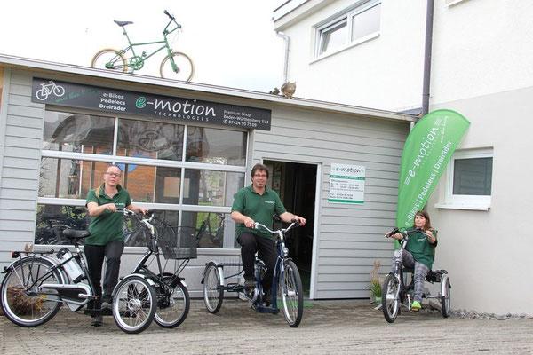Dreiräder für Erwachsene, Senioren, Behinderte