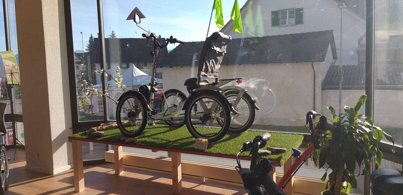Das Dreirad-Zentrum Hombrechtikon