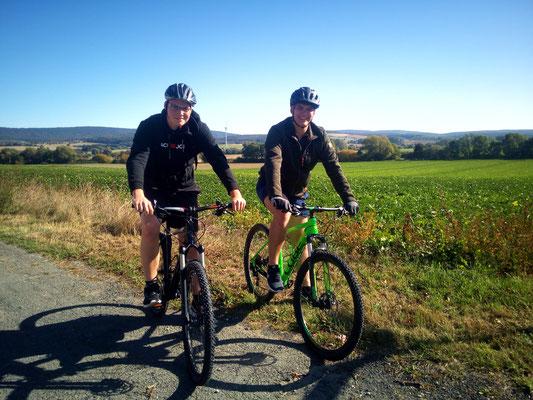Neustädter Jungs, first time rocking the Deister und die Trails. Geschafft aber Glücklich:)