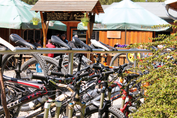 """Bike parking"" Annaturm, Deister"