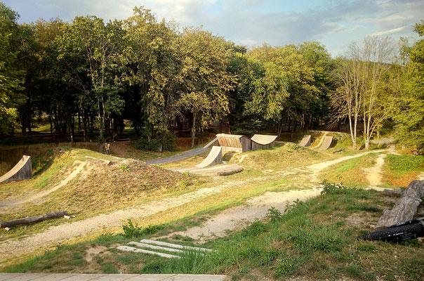 BMX und Sloope Style Bahn