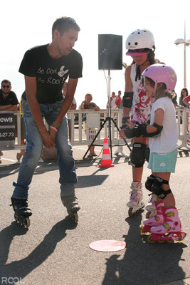 Rool - Apprentissage Roller avec enfants avec Pierre Célat