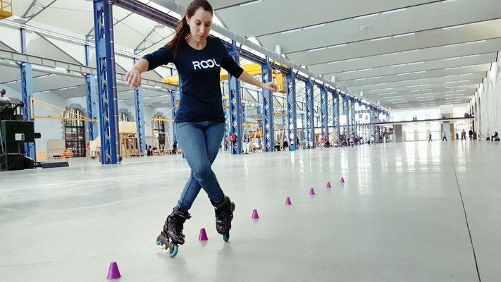 ROOL - Emilie Mignano - Compas en slalom aux Capucins