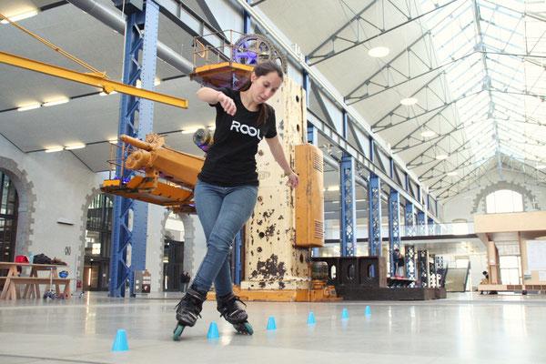 ROOL - Emilie Mignano - En croisé sur slalom