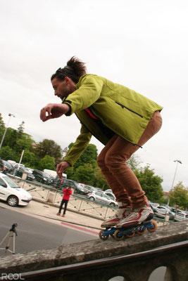 ROOL - Thomas rataud - Session roller La Rochelle