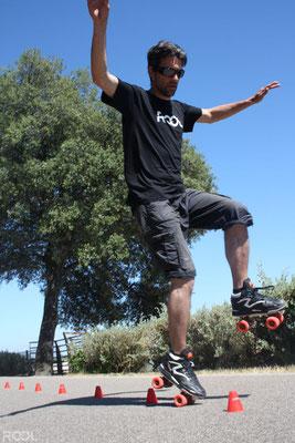 ROOL - Fred Feyt - Wheeling sur slalom