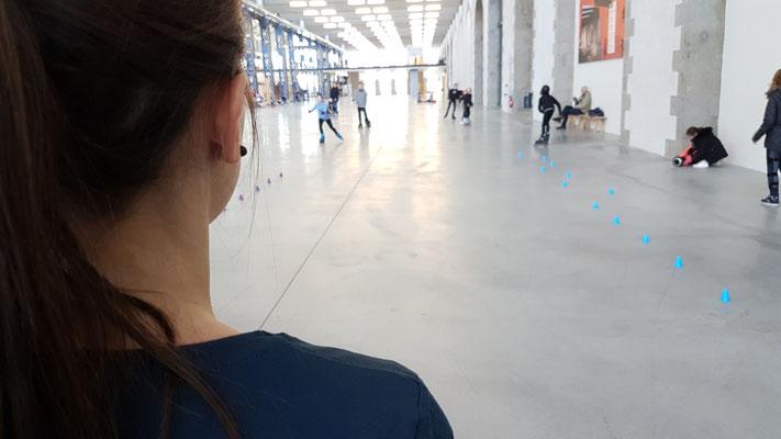 ROOL - Emilie Mignano - Entraîneur roller slalom