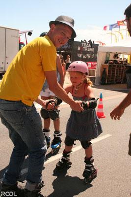 ROOL - Ken Chalot - Initiation roller fille patin en ligne