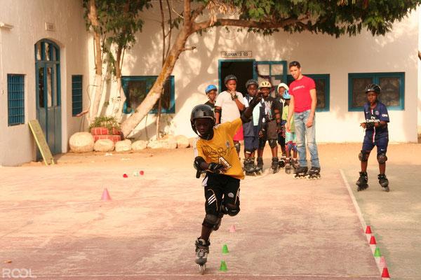 Rool - Animation Roller dans école au Sénégal Dakar