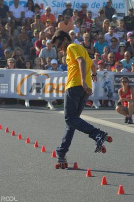 ROOL - Fred Feyt - Pied arrière en slalom
