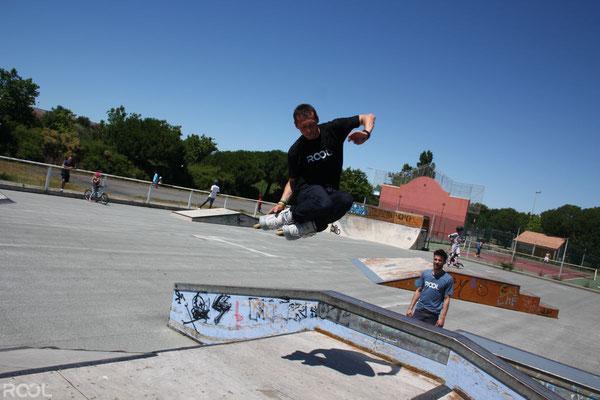 ROOL - Stéphane Luchie - Session en skatepark