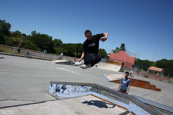 ROOL - Stéphane Luchie - Saut Rotation Skatepark